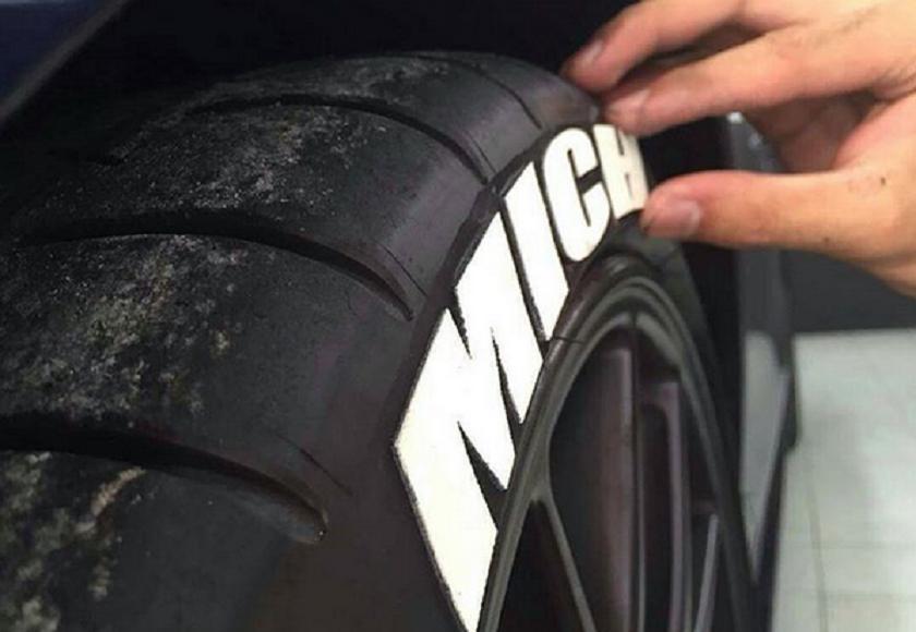 Lettrage pour pneus - Tiretred a l