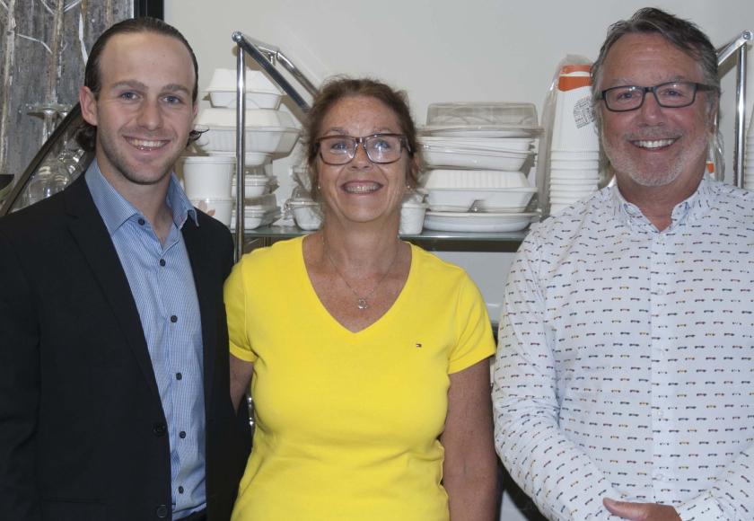 Trois gestionnaires d'EAPEE :  William Allard, Christine Allard et Jean-Denis Allard. (Photo archives)