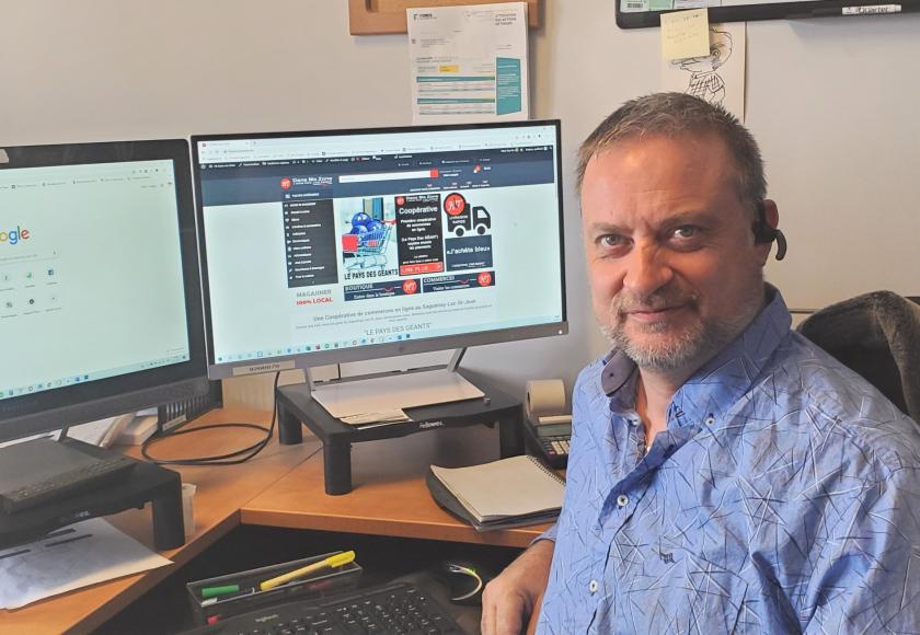 Yvon Laprise a initié la page FB: Pour GNL à Saguenay. (Photo courtoisie)