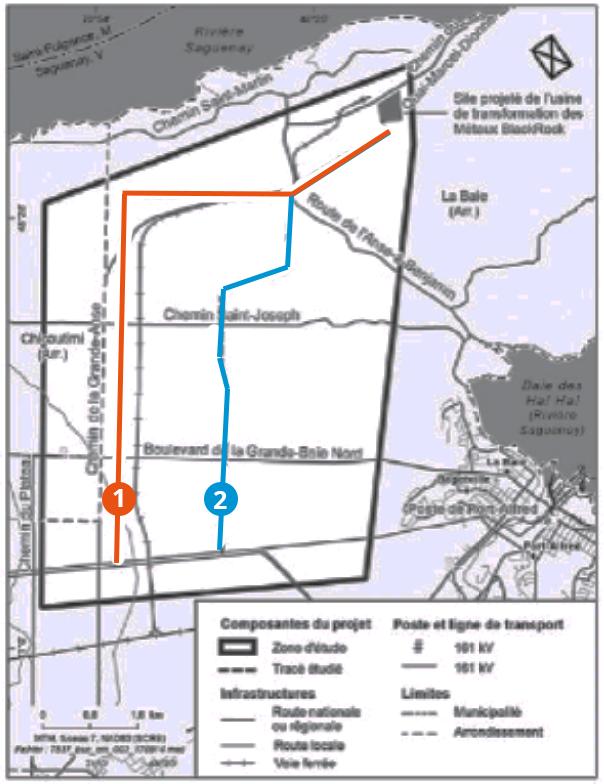 Illustration plan Hydro Québec