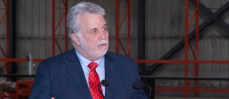 Le premier ministre du Québec, responsable de la région du Saguenay–Lac-Saint-Jean et député de Roberval, Philippe Couillard. (Photo: Guy Bouchard)