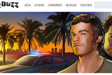 Le jeu Dexter avait été développé par l'équipe de BlooBuzz à Saguenay. (Photo: Capture site Internet)