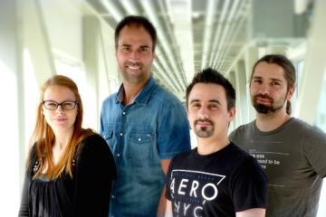 L'équipe d'EpiQ Games planche actuellement sur un autre jeu.   (Photo: Courtoisie)