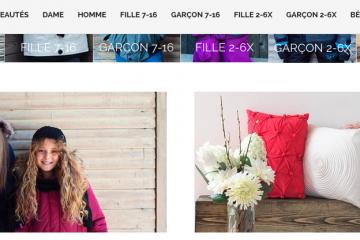 Avec ce site transactionnel, tous les Canadiens pourront magasiner chez Mode Choc en étant confortablement installés devant leur ordinateur. (Photo: Capture d'écran du site Internet Mode Choc)