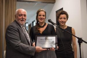 Le maire de Saint-Félicien Gilles Potin, Dre Sophie Potin et Dre Mariève Jobin. (Photo: Courtoisie)