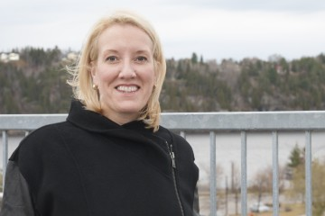 Marie-Claude Lavigne, directrice des affaires publiques de GNL Québec. (Photo: Guy Bouchard)