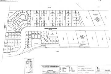 Voici le plan prévu relativement au développement des terrains de camping sur la berge du Lac-Saint-Jean.