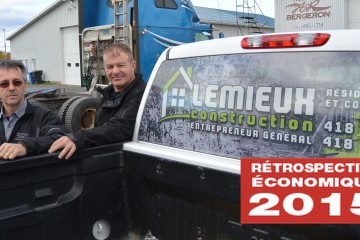 De gauche à droite, nous retrouvons, dans l'ordre habituel, Roger Bergeron et Richard Lemieux. (Photo: Jean-Luc Doumont)