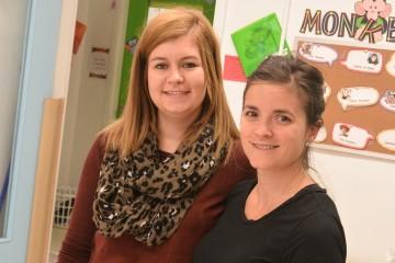 Annie-Claude Perron et Émilie Tremblay-Grenon sont copropriétaires de La petite école Vision Saguenay. (Photo: Jean-Luc Doumont)