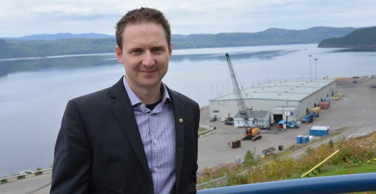 Carl Laberge, directeur général de Port Saguenay. Photo: Jean-Luc Doumont