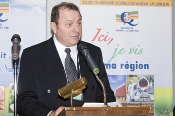 Serge Desgagné, le président de la Société des fabricants régionaux. (Photo: Guy Bouchard)