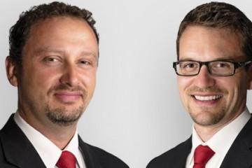 De gauche à droite: Michel Lavoie, directeur des oppérations et Michel Harvey, directeur général. (Photo: Courtoisie)