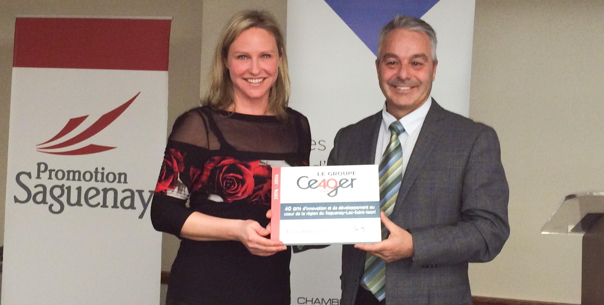 40 ans du groupe ceger synergie et diversification au ForChambre De Commerce Chicoutimi