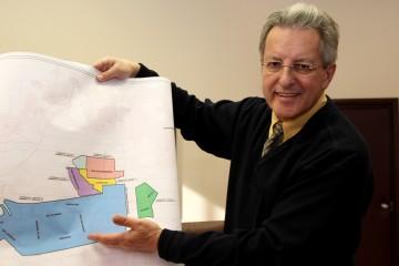 Le maire de Ville de Saguenay Jean Tremblay est très fier de l'évolution du Parc Industriel Henri-Girard, qui célèbre ses 40 années d'existence. (Photo courtoisie Ville de Saguenay)