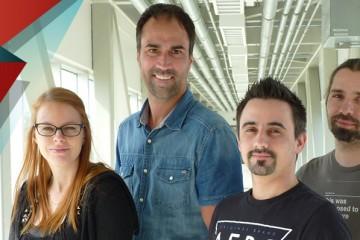 Voici l'équipe d'ÉPIQ Games. (Photo: Courtoisie)