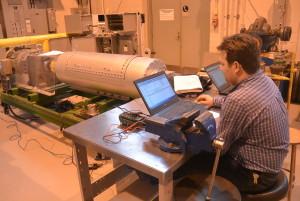 À l'intérieur du CPA, on retrouve de l'équipement à la fine pointe de la technologie qui représente plusieurs millions de dollars. (Photo: Jean-Luc Doumont)