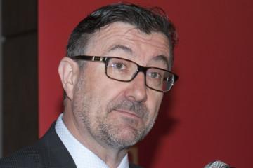 Étienne Jacques, grand patron du Métal primaire pour l'Amérique du Nord de Rio Tinto. (Photo : Guy Bouchard)