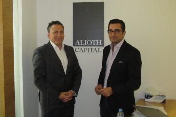 Michel Gaudreau, et  Karl Tabbakh, tous deux associé principal chez Alioth Capital. (Photo Guy Bouchard)