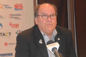 Lucien Boivin, maire de Saint-Prime. Photo : Jean-Luc Doumont