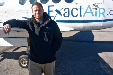 Benoit Luneau est directeur des opérations chez Exact Air depuis cinq ans. (Photo: Jean-Luc Doumont)