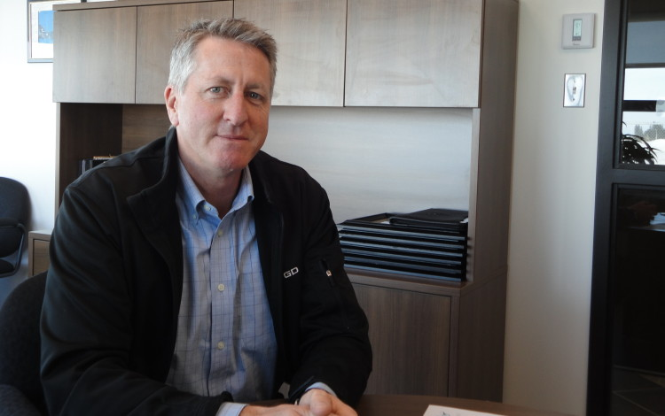 Marc Moffatt, directeur du Centre d'excellence sur les drones et également  directeur du développement économique de Ville d'Alma. (Photo : Archives)