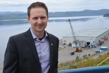 Carl Laberge, directeur général de Port Saguenay. (Photo: Jean-Luc Doumont)