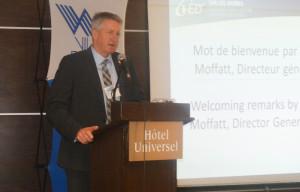 Marc Moffatt, directeur général du CED d'Alma. (Photo: Jean-Luc Doumont)