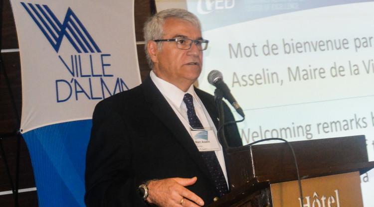 Marc Asselin, maire de Ville d'Alma. (Photo: Archives Jean-Luc Doumont)