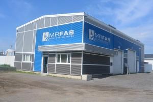 Voici les nouveaux locaux de MR FAB qui sont situés au coeur de la rue de la Métallurgie à Jonquière. (Photo : Jean-Luc Doumont)