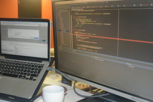 Des lignes de programmation se comptent par millions pour l'interface ISA. (Photo: Jean-Luc Doumont)