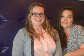De gauche à droite: Émilie Villeneuve, directrice générale d'Enviro+ et Chantale Villeneuve, adjointe à la direction. (Photo: Jean-Luc Doumont)