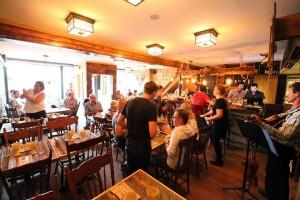 Voici le décor du Restaurant Là Là dans le Vieux-Québec. (Photo : Courtoisie)