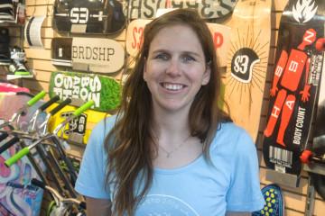 Christine Maltais, copropriétaire de la boutique S3 (Photo: Jean-Luc Doumont)