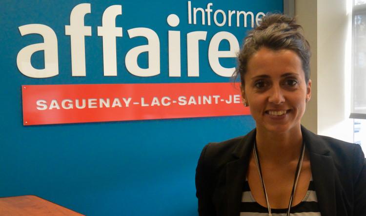 Patricia Dufour, propriétaire d'ÉvenTricia. (Photo: Jean-Luc Doumont)