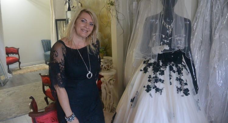 Christine Roy, propriétaire de Cendrillon en folie. (Photo : Jean-Luc Doumont)