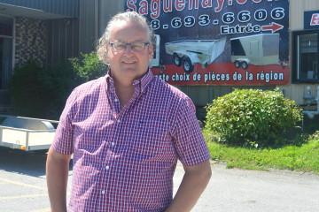 Gilles Dufour, PDG de Pro Remorque Saguenay. (Photo: Jean-Luc Doumont)