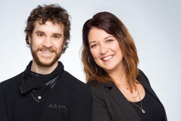 De gauche à droite: Guillaume Gosselin, président et cofondateur et Sophie Tremblay, vice-présidente et cofondatrice. Photo: Courtoisie