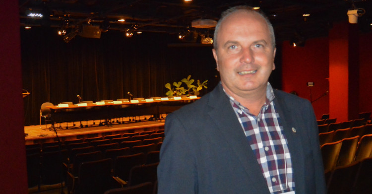 Guy Larouche, maire de Roberval. (Photo: Jean-Luc Doumont)