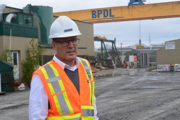 Robert Bouchard, PDG de BPDL. (Photo : Jean-Luc Doumont)
