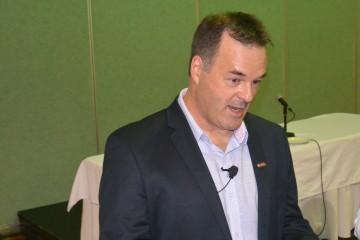 Jean-François Nadeau, DG du Complexe Jonquière de Rio Tinto. Photo : Jean-Luc Doumont