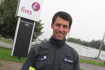 Éric Lavoie, responsable du Saguenay-Lac-Saint-Jean. (Photo: Jean-Luc Doumont)