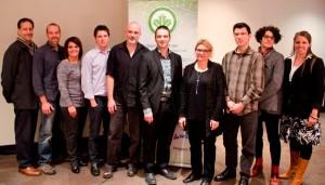 Équipe de bénévoles auprès du Conseil du bâtiment durable du Canada. (Photo : Courtoisie)