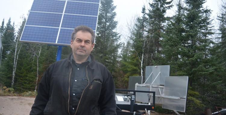 Sylvain Villeneuve, PDG de Sylvain Villeneuve Aluminium. Photo : Jean-Luc Doumont