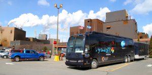 L'unité mobile d'évaluation de la santé du GDE est un outil unique au Québec. (Photo courtoisie)