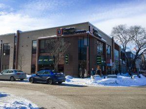 C'est à l'étage de ce bâtiment situé sur la rue Racine à Chicoutimi que seront aménagés les nouveaux bureaux de l'entreprise. (Photo: Jean-Luc Doumont)
