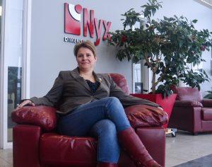 Valérie Larouche, PDG de NYX Dimensions à Saguenay. (Photo: Jean-Luc Doumont)