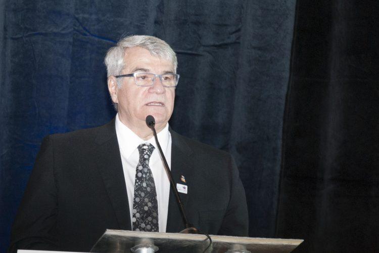 Le maire d'Alma Marc Asselin (photo archives)