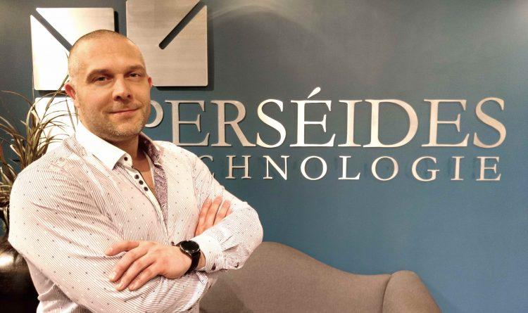 Christian Desgagné, fondateur et PDG de Perséides Technologie. (Photo: Courtoisie)