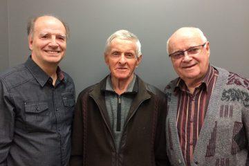 Les trois conférenciers Jean Paradis, Laval Fortin et Luc Tessier