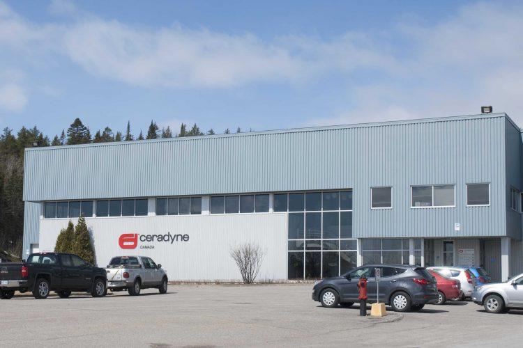 Située à Chicoutimi, Ceradyne Canada est une entreprise spécialisée dans la transformation de l'aluminium pour l'industrie nucléaire. (Photo: Guy Bouchard)